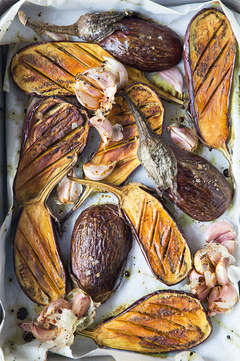 Sweet Curry Glazed Roasted Aubergine — Food to meet you.