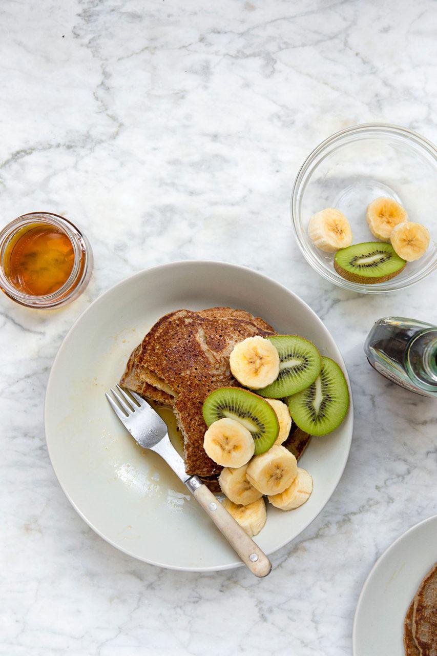 Gluten-Free Maca Banana Pancakes — Food to meet you.