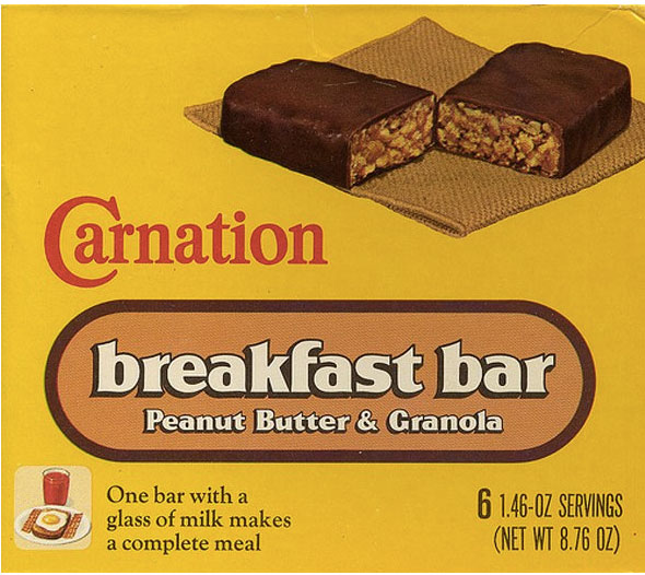 Carnation Breakfast bar
