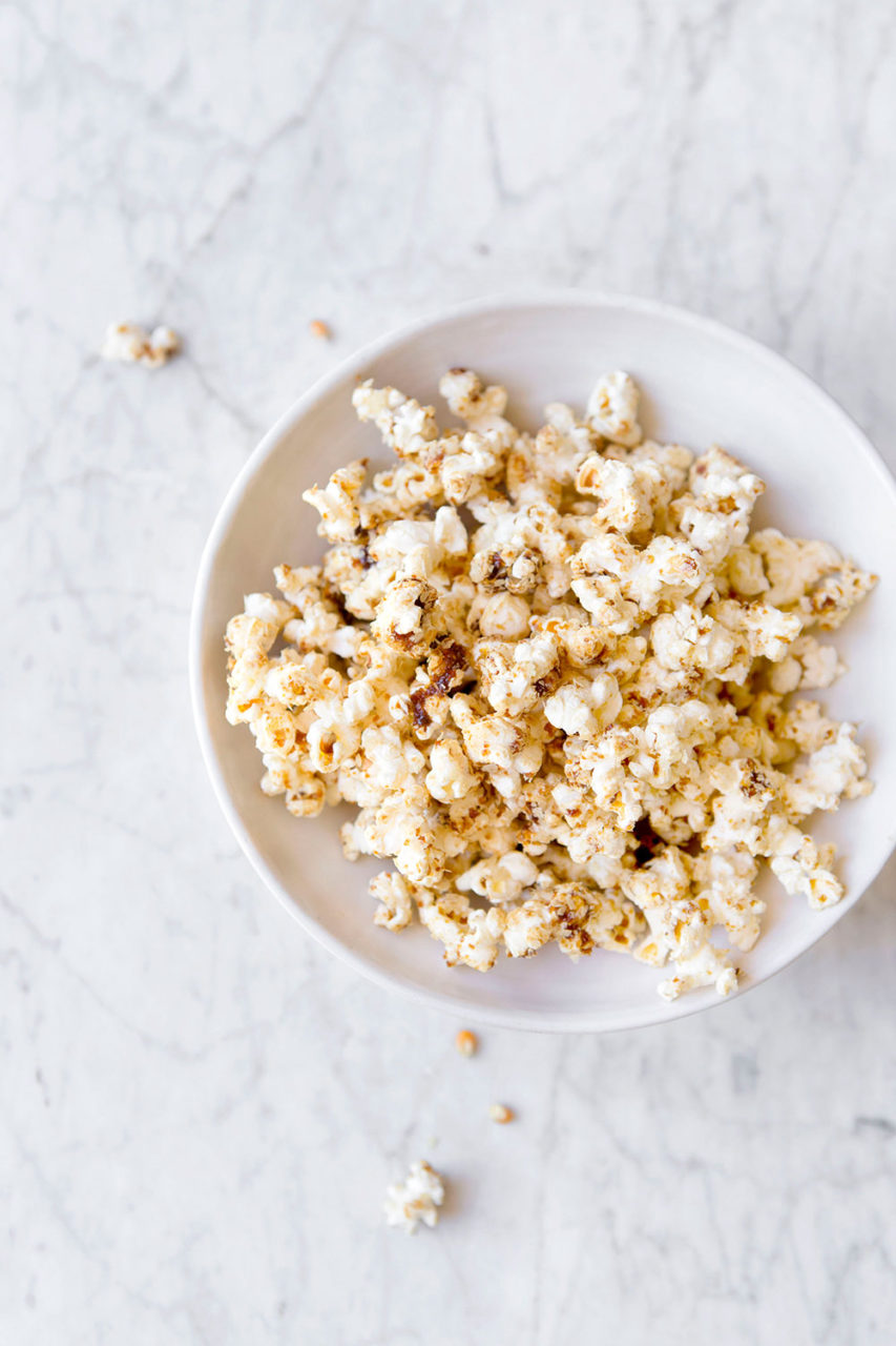 chessy onion salted caramel popcorn