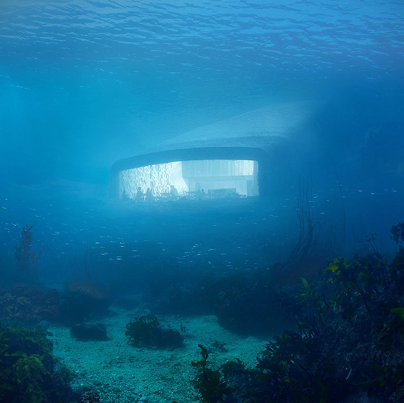 Under. Europe's first underwater restaurant. — Food to meet you.