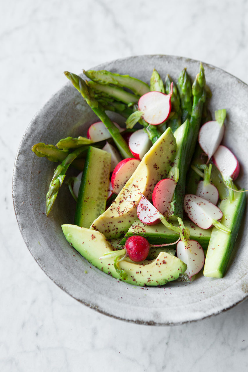 Warm Asparagus Salad — Food to meet you.
